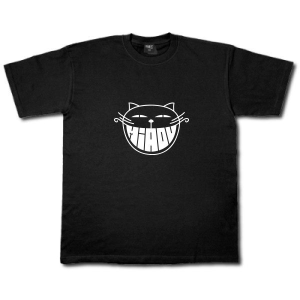 T-shirt léger B&C - E150 The smiling cat