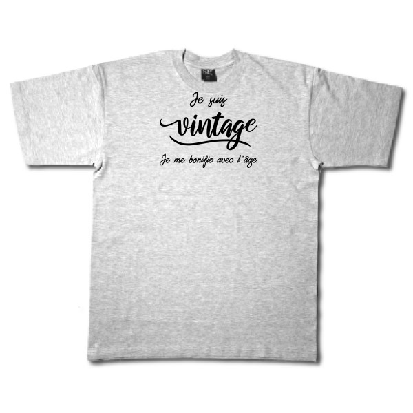 T-shirt - Fruit of the loom 205 g/m² - Je suis vintage