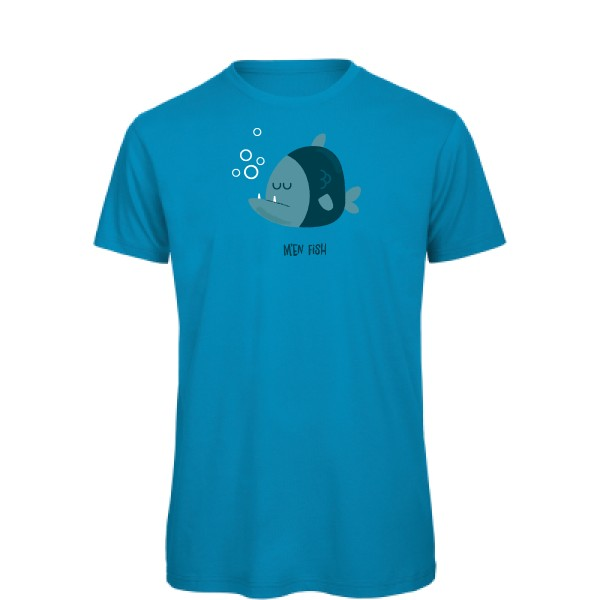 T-shirt bio B&C - T Shirt organique M'en fish