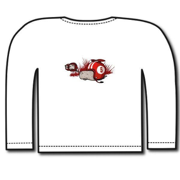 T-shirt enfant manches longues Russell - Boys Long Sleeve HD Tee  F0