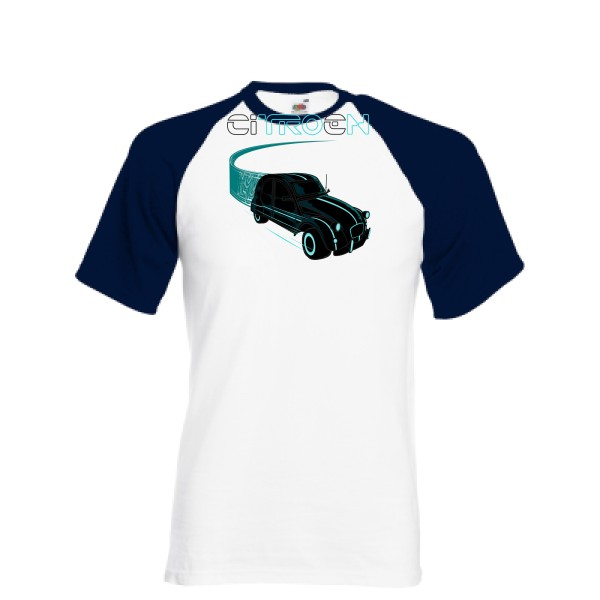 T-shirt baseball - Fruit of the Loom - Baseball Tee - Tron
