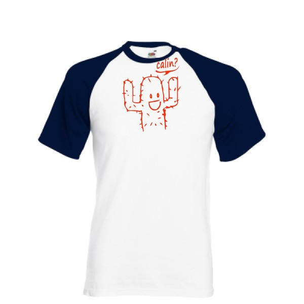 T-shirt baseball Fruit of the Loom - Baseball Tee Calin
