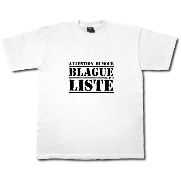 T-shirt workwear - B&C - Workwear T-Shirt - BLAGUE LISTÉ