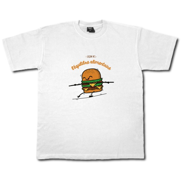 T-shirt cintré Fruit of the loom - Fitted Value Weight T BURGER ADDICT