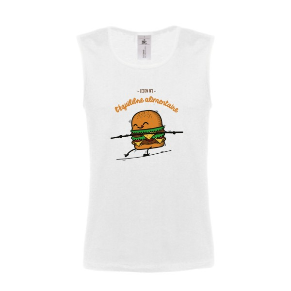 Débardeur B&C - Athletic Move Shirt BURGER ADDICT