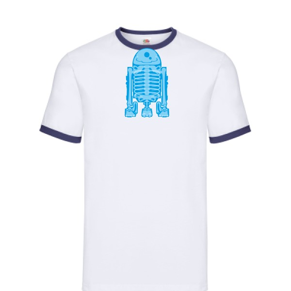 T-shirt ringer Fruit of the loom - Ringer Tee Droid Scan