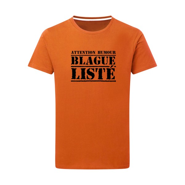 T-shirt léger SG - Men BLAGUE LISTÉ
