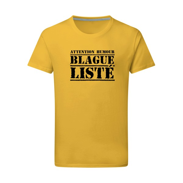 T-shirt léger - SG - Men - BLAGUE LISTÉ