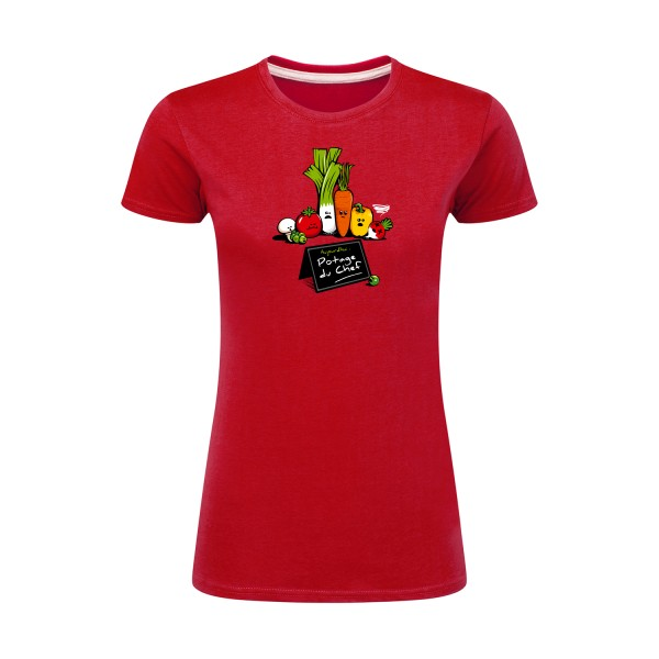 T-shirt femme léger - SG - Ladies - Maxi-Chef