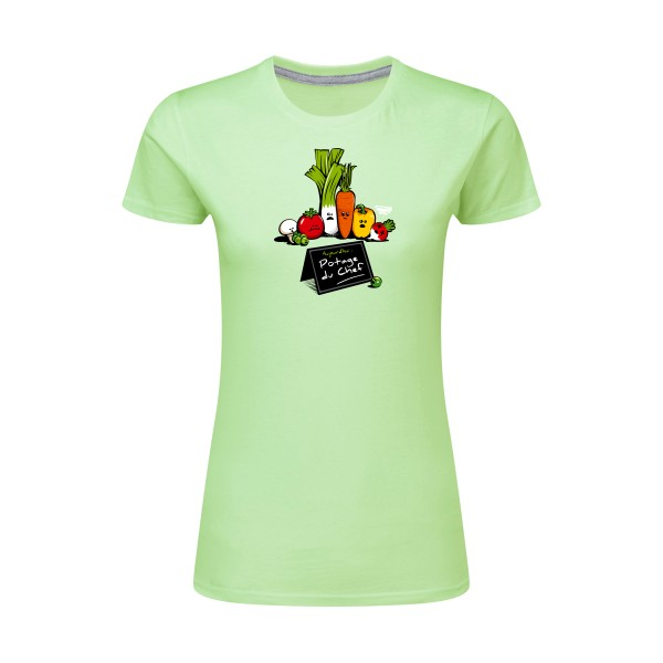 T-shirt femme léger SG - Ladies Maxi-Chef