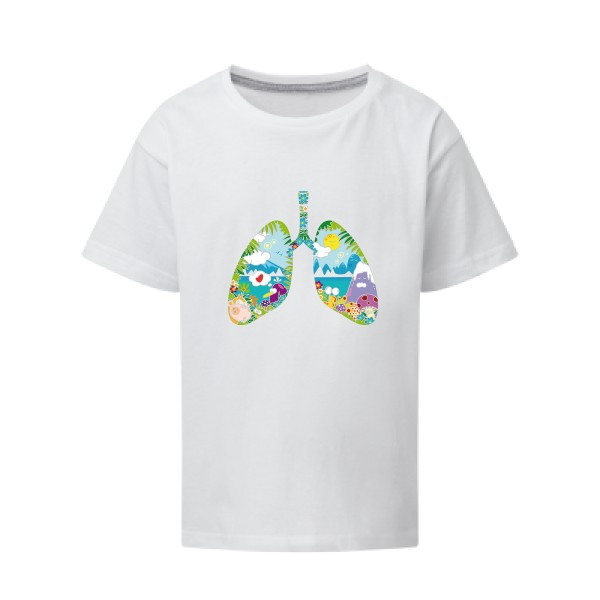 T-shirt enfant - SG - Kids - happy lungs