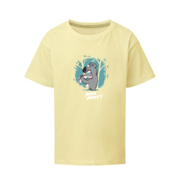 T-shirt enfant SG - Kids Need meat ?