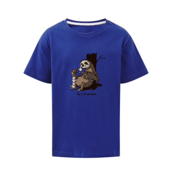 T-shirt enfant SG - Kids Procaféination