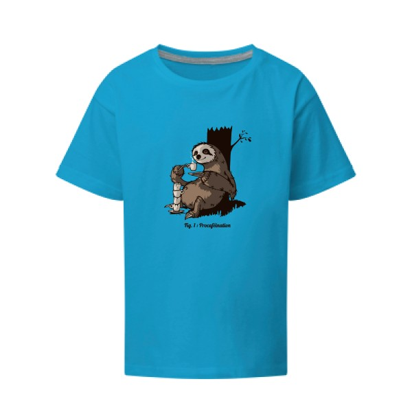 T-shirt enfant - SG - Kids - Procaféination