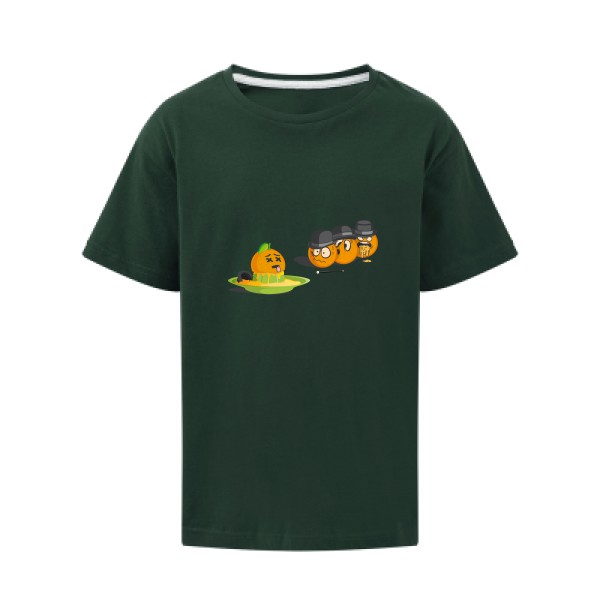 T-shirt enfant - SG - Kids - Orange mécanique 2
