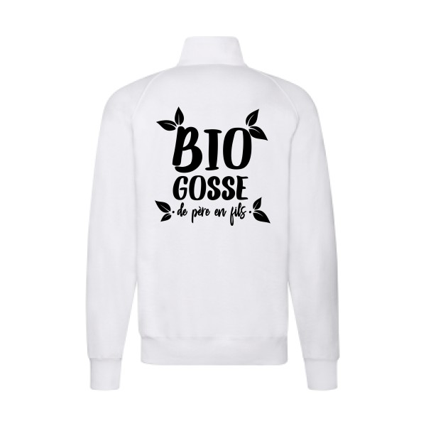 Sweat zippé - Fuit of the loom - Lightweight Sweat Jacket - BIO GOSSE