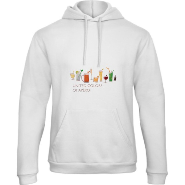 Sweat capuche B&C - Hooded Sweatshirt Unisex  UNITED COLORS OF APÉRO.