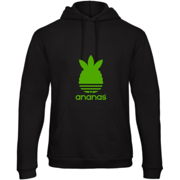 Sweat capuche B&C - Hooded Sweatshirt Unisex  ananas