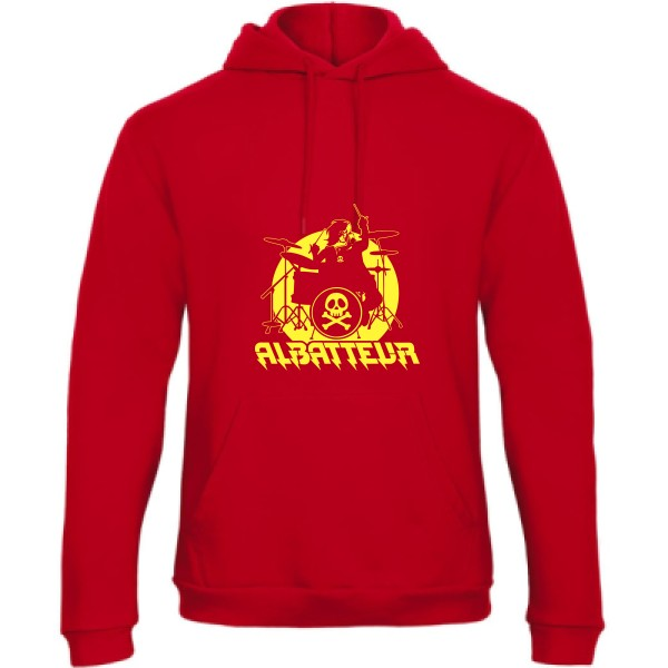 Sweat capuche B&C - Hooded Sweatshirt Unisex  ALBATTEUR