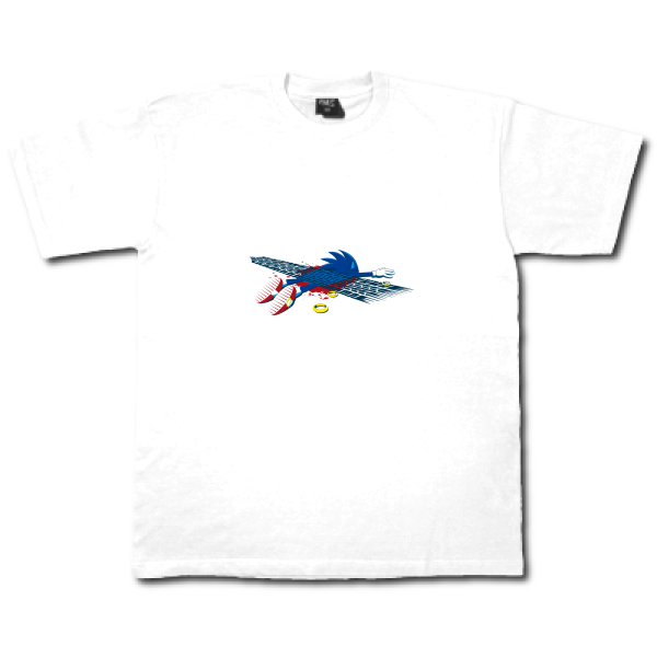 Tee shirt�l�ger B&C - Exact 150 Sonic is dead !!!