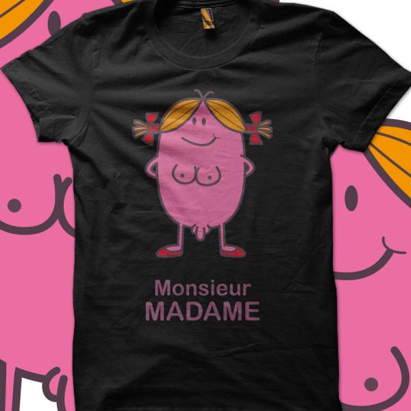 le visuel monsieur madame one more monsieur. Black Bedroom Furniture Sets. Home Design Ideas