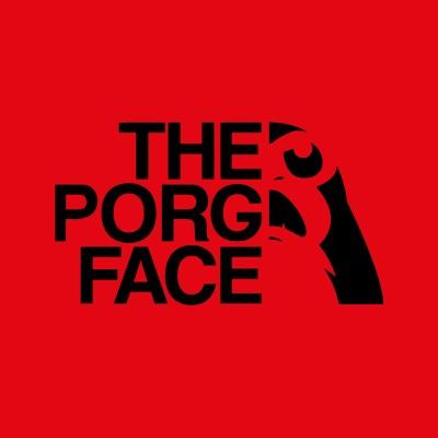 The porg face