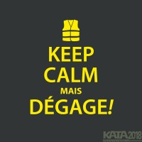 KEEP CALM man
