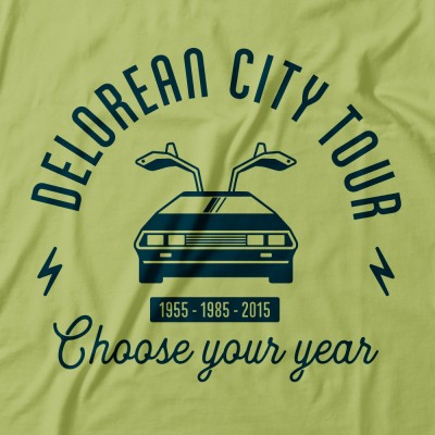 Delorean city tour