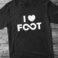 I love foot infiniment