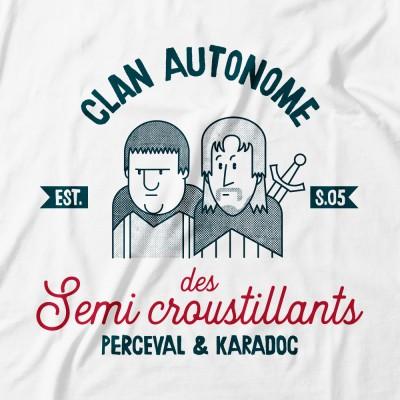 Semi croustillants