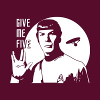 GIVE ME FIVE SPOCK !
