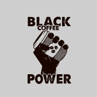 Black coffee power