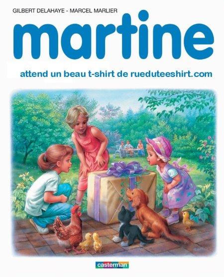 Rue Du Tee Shirt Martine Chez Rdts