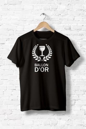 D'or Shirt Tee Femme Ballon FootballAlcoolHumourSportFlex k8Xn0wOP