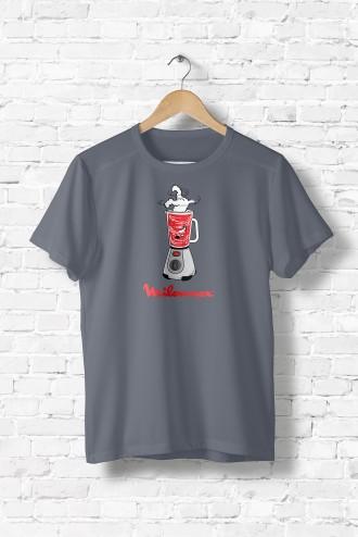 tee shirt homme milounex chien bd marque humour noir. Black Bedroom Furniture Sets. Home Design Ideas