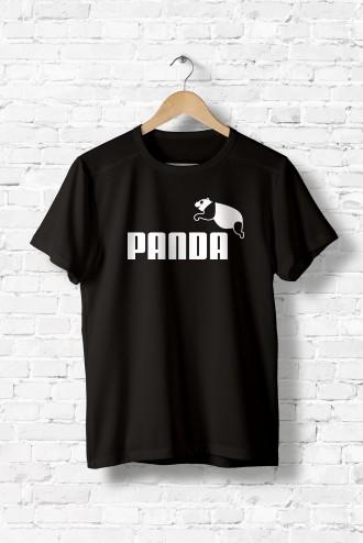 comment chercher véritable volume grand Tee shirt femme PANDA fun fun, animaux, enfants, detournement parodie,  humour, marque, flex