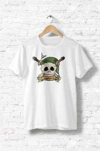 d22fcb30aa2 Tee shirt homme Zelda Skull humour