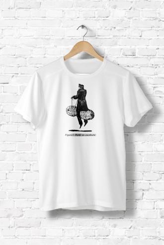 244e1954b2b Tee shirt homme Partir en cacahuète. T-Shirt humour fun