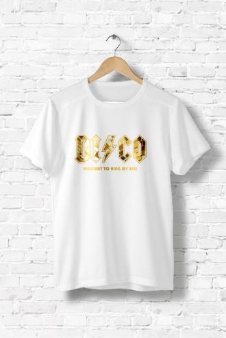 Disco Tee Shirt AcdcHumourMusique Tee Homme txQhsrdC